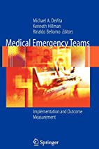 Medical Emergency Teams: Implementation and…