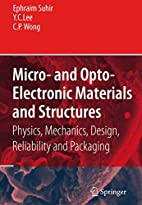 Micro- and Opto-Electronic Materials and…