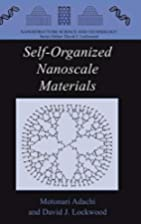 Self-Organized Nanoscale Materials…