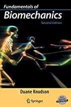 Fundamentals of Biomechanics by Duane…