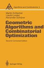 Geometric Algorithms and Combinatorial…