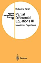 Partial Differential Equations III.…