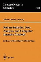 Robust Statistics, Data Analysis, and…
