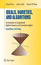 Ideals, Varieties, and Algorithms: An…