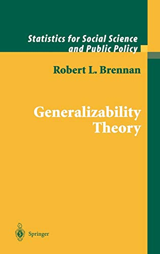generalizability-theory-statistics-for-social-and-behavioral-sciences