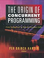 The Origins of Concurrent Programming: From…