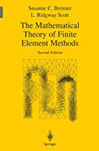 The Mathematical Theory of Finite Element…