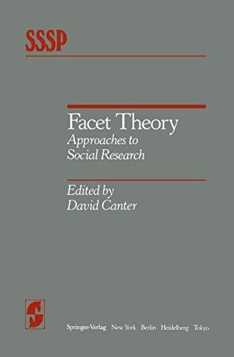 facet-theory-approaches-to-social-research-springer-series-in-social-psychology