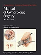 Manual of Gynecologic Surgery (Applied…