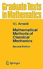 Mathematical Methods of Classical Mechanics…