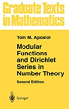 Modular Functions and Dirichlet Series in…