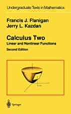 Calculus Two: Linear and Nonlinear Functions…