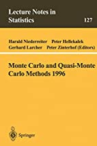 Monte Carlo and Quasi-Monte Carlo Methods…