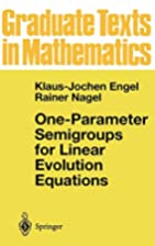 One-Parameter Semigroups for Linear…
