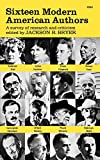 Bryer, Jackson R.: Sixteen Modern American Authors: A Survey of Research and Criticism