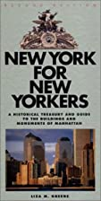 New York for New Yorkers: A Historical…
