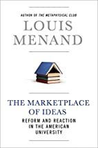 The Marketplace of Ideas: Reform and…