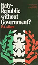 Italy-Republic Without Government? by Percy…
