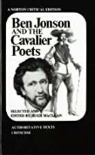Ben Jonson and the Cavalier Poets [Norton…