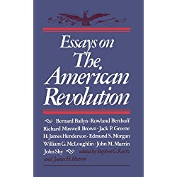 essays on the american revolution stephen g. kurtz The colonial background of the american revolution: four essays in american  separate baptists in the great awakening  stephen g kurtz and james.