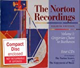 Forney, Kristine: The Norton Recordings Volume I: Gregorian Chant to Beethoven Four CD Set