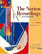 The Norton Recordings to Accompany the…