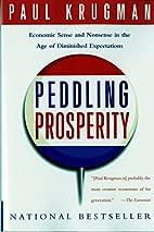 Peddling Prosperity: Economic Sense and…