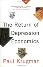 The Return of Depression Economics by Paul…