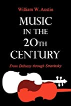 Music in the 20th Century: From Debussy…