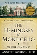 The Hemingses of Monticello: An American…