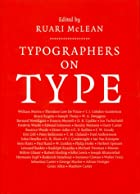 Typographers on Type: An Illustrated…