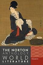 The Norton Anthology of World Literature…