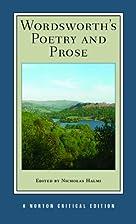 Wordsworth's Poetry and Prose (Norton…
