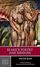 Blake's poetry and designs : illuminated…