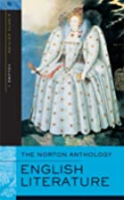 The Norton Anthology of English Literature,&hellip;