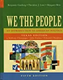 Lowi, Theodore J.: We The People: An Introduction To American Politics