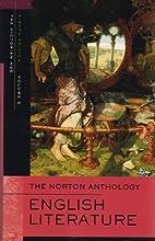 The Norton Anthology of English Literature,…