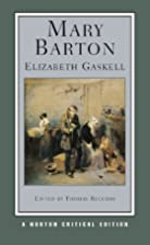 Mary Barton (Norton Critical Edition) by…