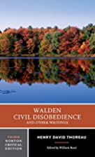 Walden, Civil Disobedience, and Other…