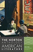 The Norton Anthology of American Literature…