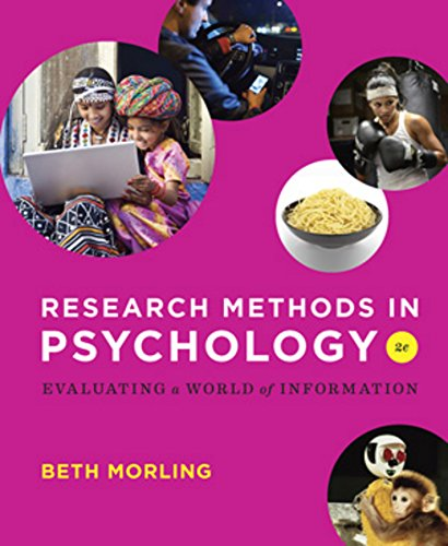 research-methods-in-psychology-evaluating-a-world-of-information-second-edition