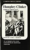 Smollett, Tobias: Humphry Clinker (Norton Critical Editions)