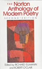 Norton Anthology of Modern Poetry by Richard…