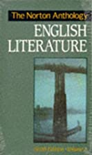 The Norton Anthology of English Literature,…