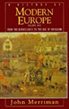 A History of Modern Europe, Second Edition:…