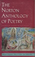 The Norton Anthology of Poetry: Shorter…