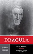 Dracula (Norton Critical Edition) by Bram…