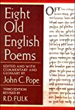 Fulk, R. D.: Eight Old English Poems