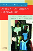 The Norton Anthology of African American…