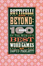 The Penguin Book of Word Games by David…